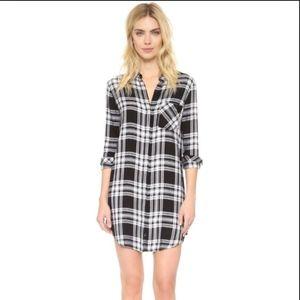 BNWT Rails Sawyer Button Down Shirt Dress